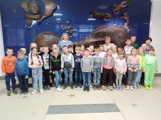 Малыши из Серпухова побывали в Звёздном городке