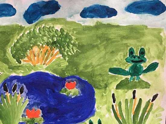 Рисунки юных жителей Серпухова отправят в Центр охраны дикой природы