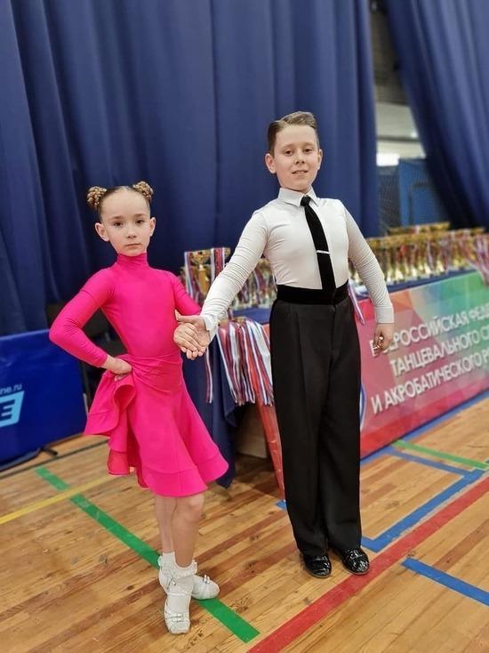 Танцоры из Серпухова приняли участие в Российских соревнованиях