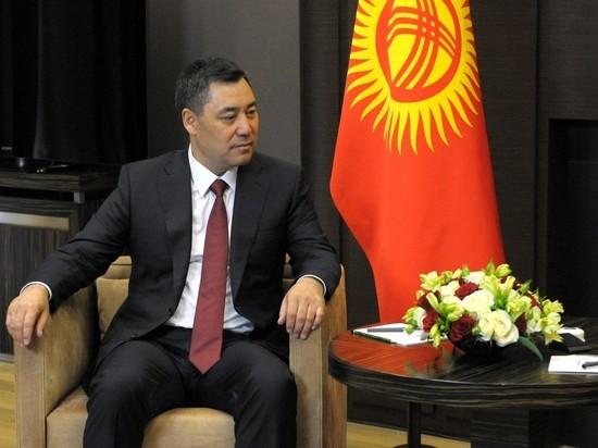 Глава Киргизии Садыр Жапаров перед поездкой в Сочи прошел многодневный карантин