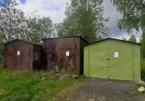 Власти Петрозаводска требуют снести незаконно установленные гаражи на Перевалке