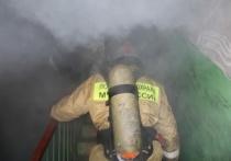 В Иванове загоревшийся балкон в квартире МКД тушили 27 человек