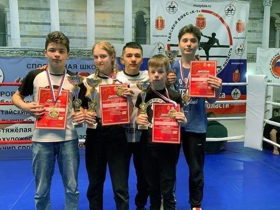 Боксеры из Серпухова привезли семь медалей с Чемпионата Тульской области