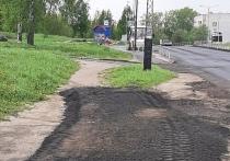 Обочины на Пограничной обустроят для пешеходов в этом сезоне
