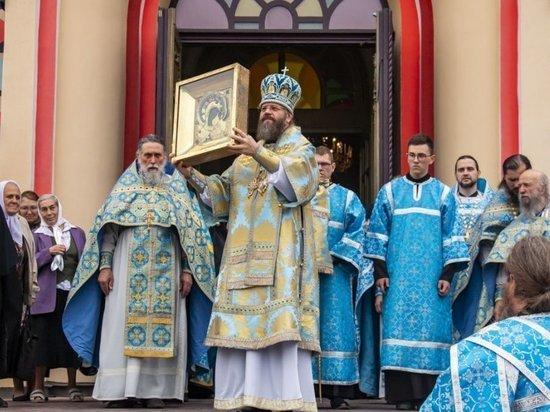 Образ будет находиться до 7 июля в Вознесенском женском монастыре (0+)