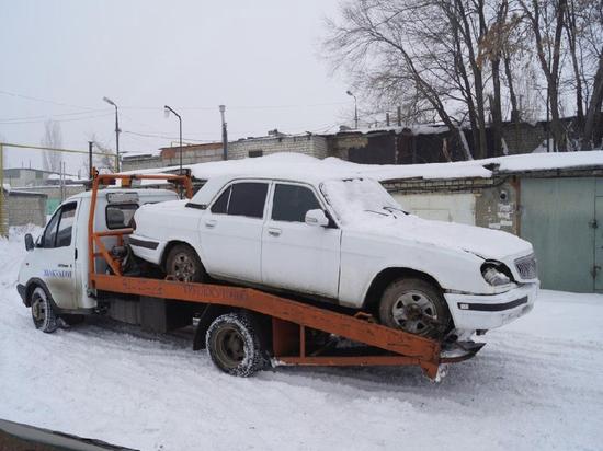 Кировчанин угнал «Волгу» на автоэвакуаторе и сдал в металлолом
