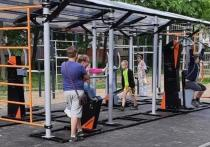 В ивановских дворах установили две новые спортивные площадки