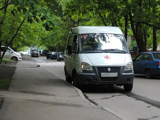 Инцидент произошел в центре Москвы, лишь чудом никто не пострадал