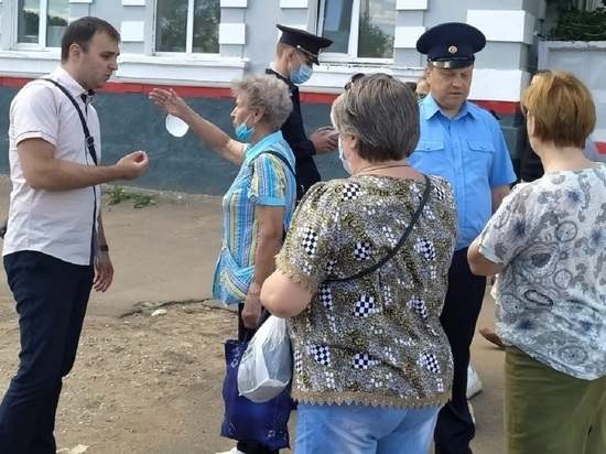 Рейд по безопасности на железной дороге прошёл в Серпухове