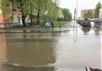 В Петрозаводске нашли переход, который после дождя превращается в озеро