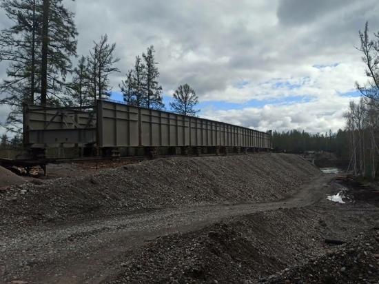 В Туве объявлены планы досрочного строительства моста в Тоджу