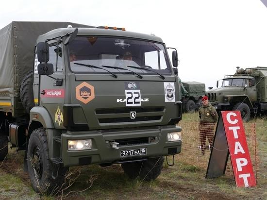 В Туве стартовала индивидуальная гонка «Военного ралли»