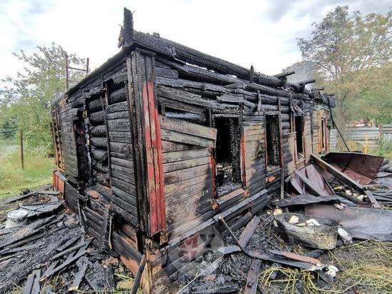 В посёлке Шипицыно Котласского района при пожаре в частном доме погиб пенсионер