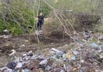 Лишь один житель вышел на уборку переулка Читы, откуда вывезли 7 КамАЗов мусора