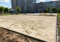 Новые спортивные площадки начали обустраивать в Серпухове