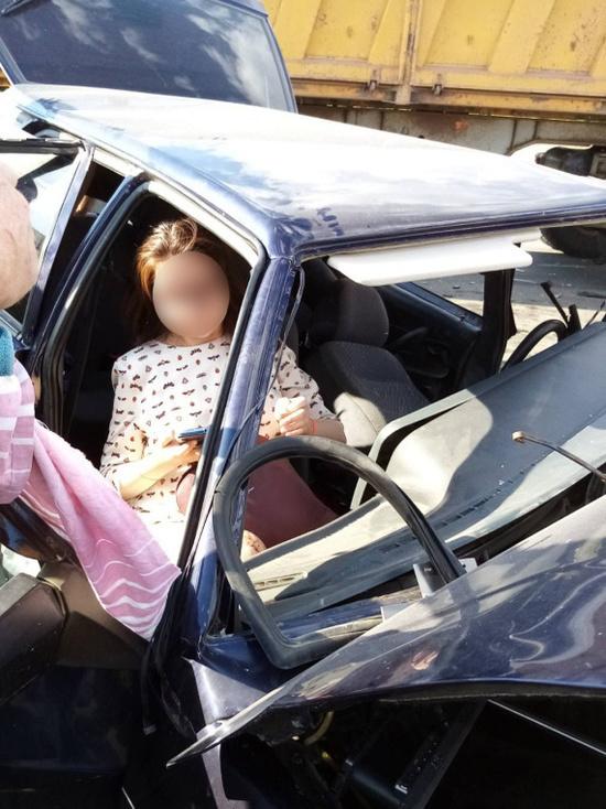 На трассе «Каменноозерное-Медногорск» спасли беременную женщину