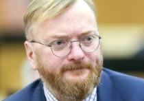 Милонов придумал способ наказать Латвию за снятие российского флага