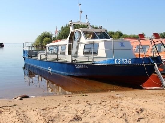 Катер «Талабск» начал ездить на Залитские острова