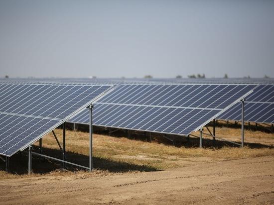 В Волгоградской области открыли шестую солнечную электростанцию