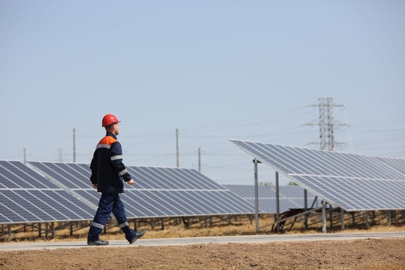 Шестую солнечную электростанцию открыли в Волгоградской области, фото-2