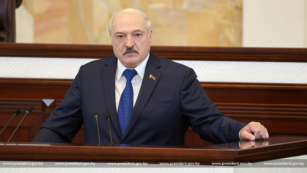 Говоря про самолет Ryanair, Лукашенко не был похож на себя: кадры эмоций