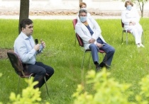 Губернатор Ивановской области обсудил с врачами ГКБ №4 ситуацию с COVID-19