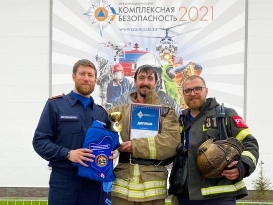 Огнеборец из Серпухова стал призером Всероссийских соревнований