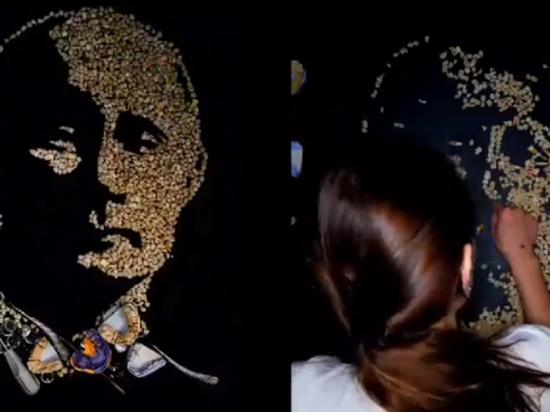 Художница из Уфы Евгения Хайбуллина готова отдать свое творение не менее чем за $2700