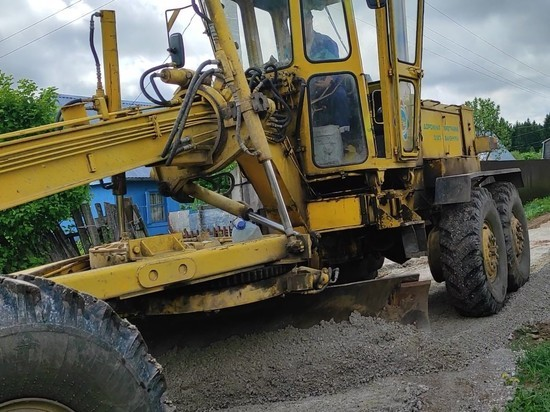 Союз садоводов прогрейдировал 39 км дорог в Кирово-Чепецком районе