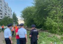 Сегодня жильцы домов №26 и 28 улицы Институтской в очередной раз вышли на защиту деревьев, которые запланированы под снос для строительства новой дороги