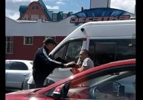 В Челябинске два водителя подрались на проезжей части
