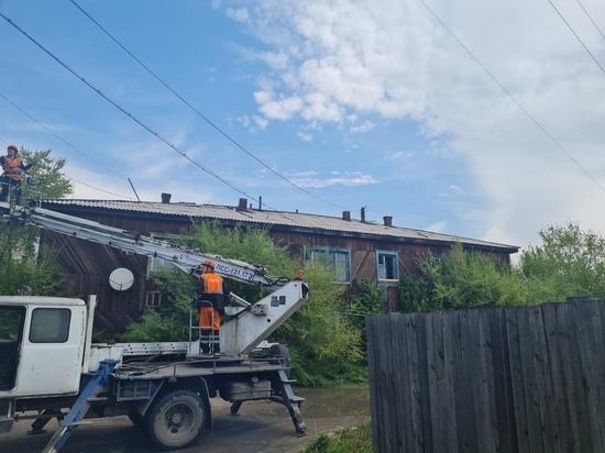 В столице Тувы сносят аварийные дома