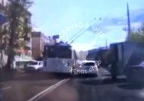 Служебное расследование проведут по ехавшему по «встречке» троллейбусу в Чите