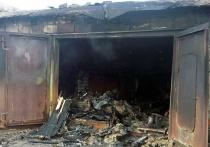 В Ивановской области сгорели гараж с автомобилем
