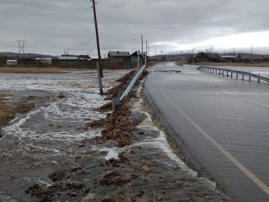 Минстрой: Все пострадавшие от паводков дороги в Забайкалье восстановили