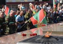 Владислав Шапша поблагодарил пограничников за верность долгу