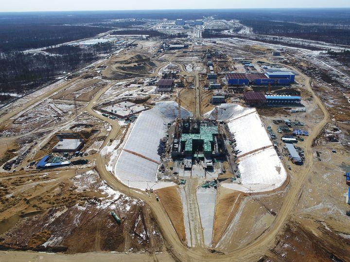 """Космодром """"Восточный"""" в Амурской области уверенно идёт в будущее"""