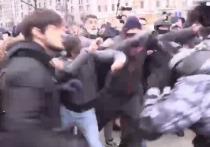 Чеченцу, подравшемуся на московской акции с омоновцами, запросили 5 лет