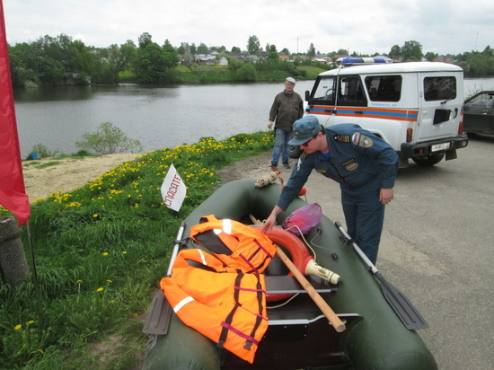 В Калужской области идет проверка постов МЧС к купальному сезону