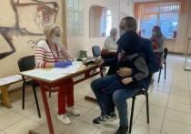 Явка в полдень: в предварительном очном голосовании поучаствовали 8% псковских избирателей