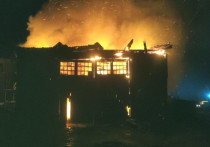 В Кировской области от удара молнии загорелось здание техникума