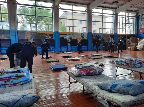 В Кызыле подготовлен третий пункт для пострадавших от паводка