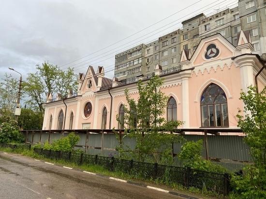 С Дома Конопацких в Туле сняли строительные леса