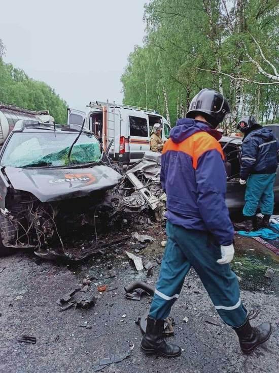 В аварии в Борском районе погибло четыре человека