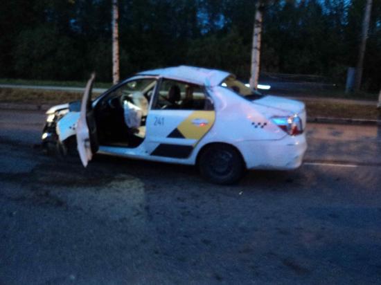 В Архангельске произошло ДТП по вине пьяного водителя