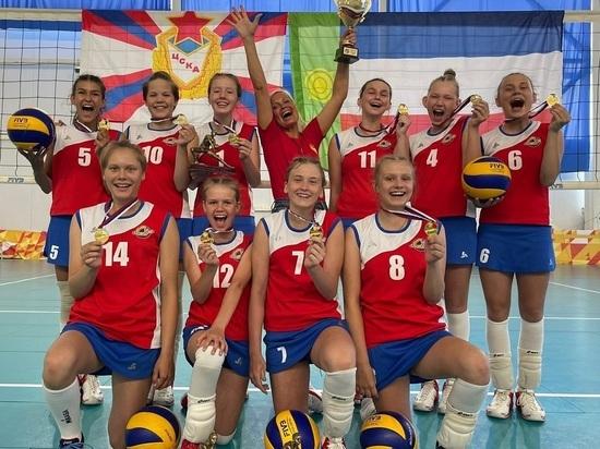 Команда ЦСКА-Хакасия выиграла всех на первенстве России по волейболу