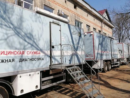 Детский медицинский автопоезд начал работу в селах Уссурийского городского округа