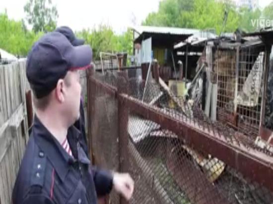 В Челябинске сотрудники Росгвардии спасли людей во время ночного пожара