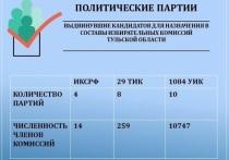 Кто организует выборы в Тульской области: партийный разрез
