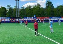 Матч Юношеской футбольной лиги впервые прошёл в Пскове